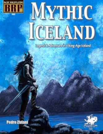 Basic Roleplaying RPG: Mythic Iceland