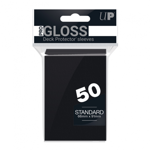 Ultra-Pro Sleeves:  New Standard Black Deck Protectors (50)