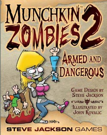 Munchkin Zombies 2: Armed & Dangerous (Expansion)