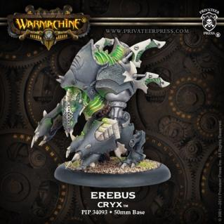 Warmachine: (Cryx) Erebus Heavy Warjack Character Upgrade Kit
