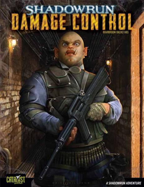 Shadowrun: Damage Control - Boardroom Backstabs # 1