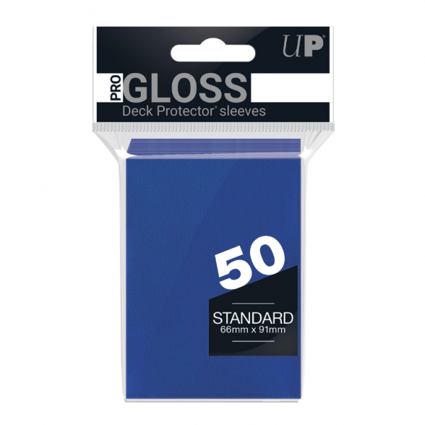 Ultra-Pro Sleeves:  New Standard Blue Deck Protectors (50)