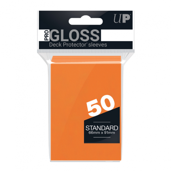 Ultra-Pro Sleeves:  New Standard Orange Deck Protectors (50)