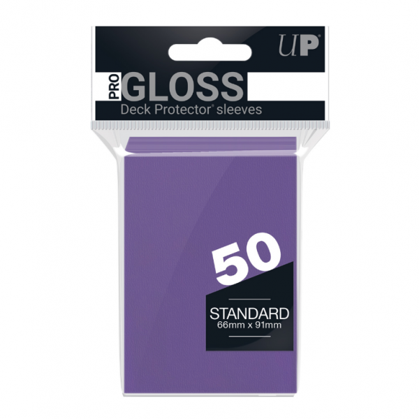 Ultra-Pro Sleeves:  New Standard Purple Deck Protectors (50)