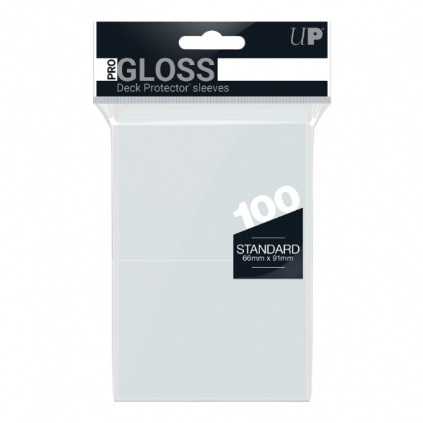 Ultra-Pro Sleeves:  New Standard Clear Deck Protectors (100)