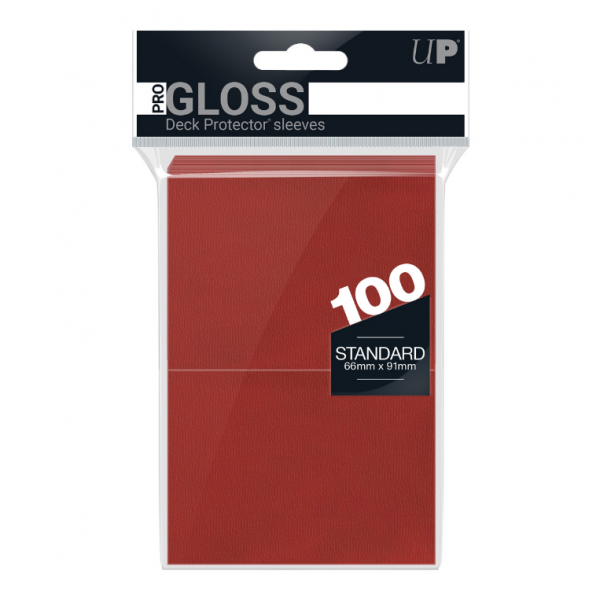 Ultra-Pro Sleeves:  New Standard Red Deck Protectors (100)