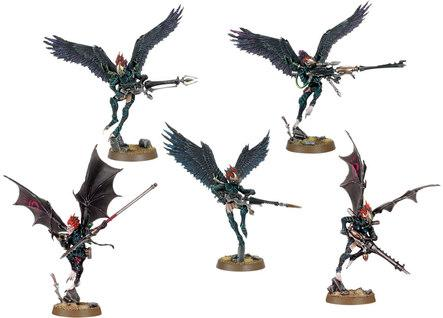 Shadow War: Dark Eldar Scourges (5) [KILL TEAM]