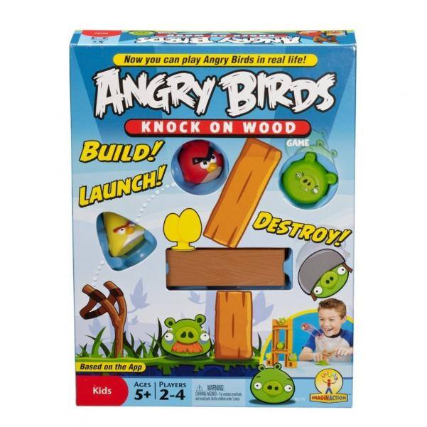 Angry Birds Game: Knock on Wood