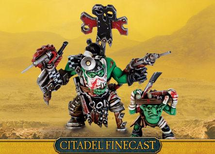 Citadel Finecast Resin: Ork Painboy