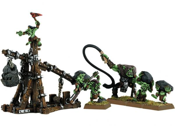 Citadel Finecast Resin: Goblin Rock Lobber
