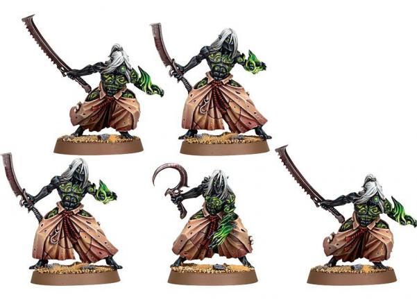 Citadel Finecast Resin: Dark Eldar Mandrakes