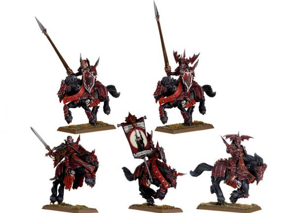 Citadel Finecast Resin: Vampire Counts Blood Knights