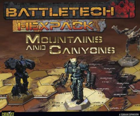Classic BattleTech: HexPack - Mountains and Canyons