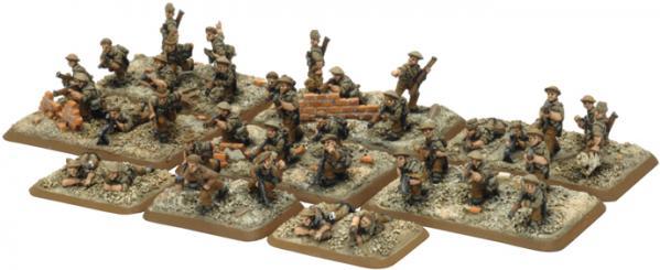 Flames of War - British: Commonwealth Rifle Platoon