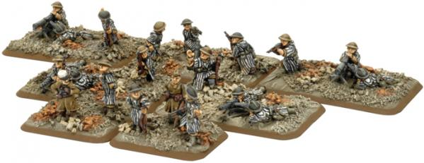 Flames of War - French: Goum Company HQ