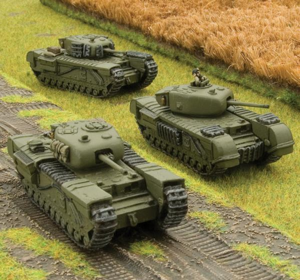 Flames Of War (WWII): (British) Churchill Platoon