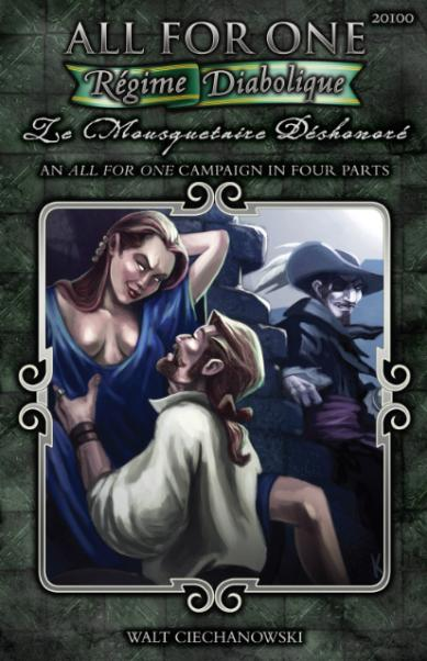 All For One RPG: Le Mousquetaire Deshonore