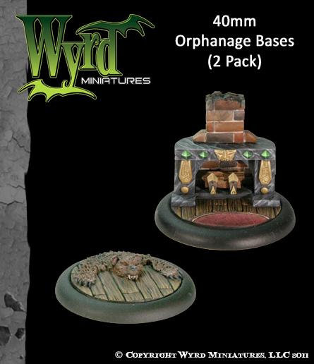 Malifaux: (Bases) Orphanage 40mm