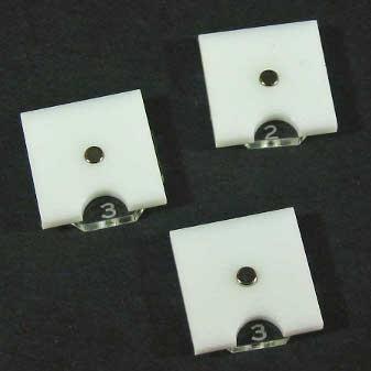Steampunk Wars Fuel Token Dials (Opaque White)