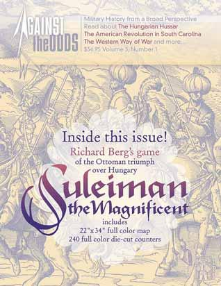 Against the Odds #9 - Volume 3, Issue 1: Suleiman the Magnificent