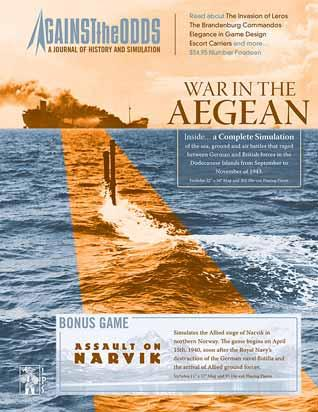 Against the Odds #14 - Volume 4, Issue 2: War in the Aegean