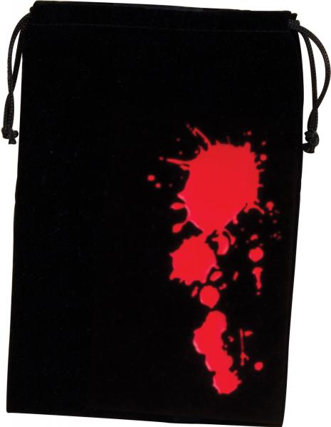 Dice/Game Bags: Blood (6.25'' x 9'')