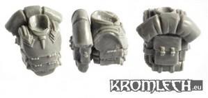 Kromlech Conversion Bitz: Armoured Torsos with Backpacks (5+5)
