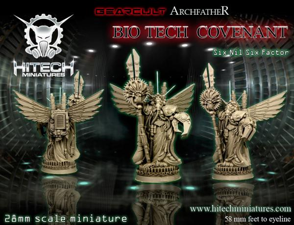 (Bio-Tech Covenant) Gearcult ArchFather Six Nil Six Factor