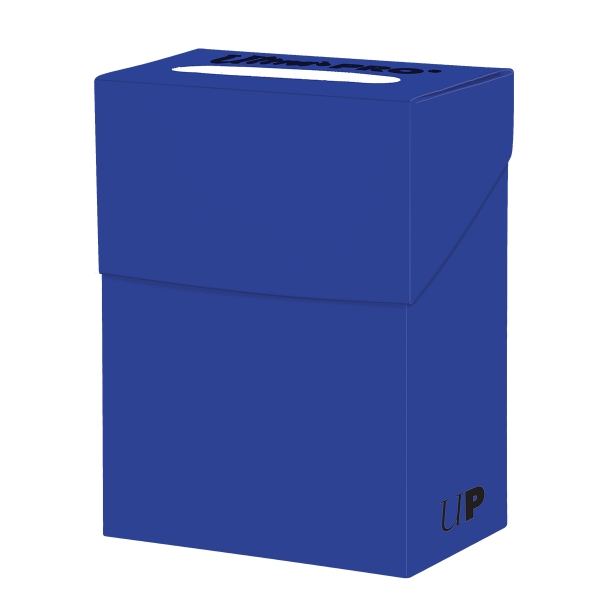 Ultra Pro:  Solid Blue Deck Box