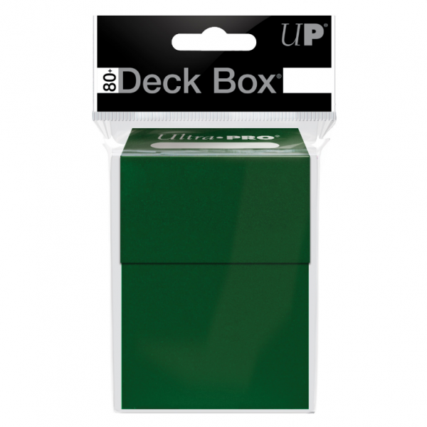 PRO 80+ Deck Box: Forest Green
