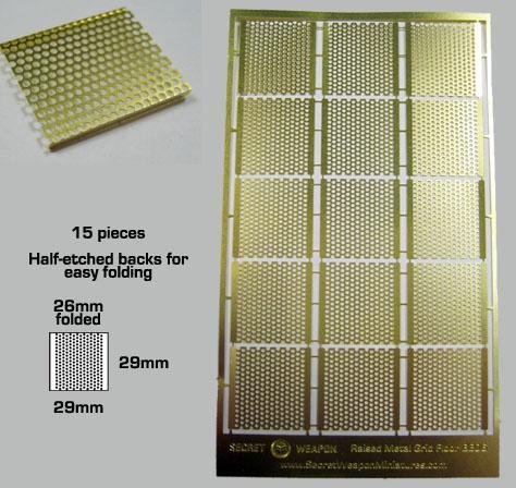 Raised Metal Grid Flooring
