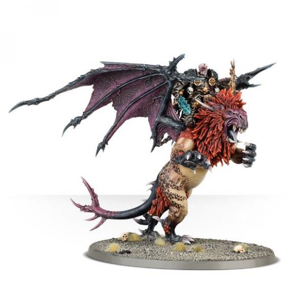 Age of Sigmar: Chaos Lord on Manticore