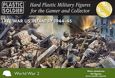15mm WWII (American): Infantry 1944-45
