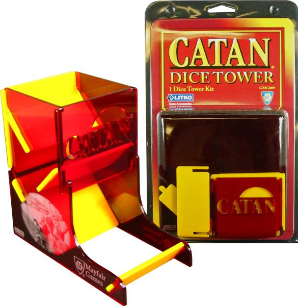 Dice Towers: Catan Dice Tower