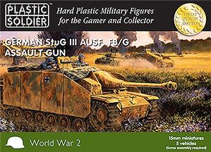 15mm WWII (German): Easy Assembly Stug III Tank