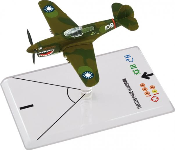 Wings Of Glory WWII Series III Miniatures: Curtiss P-40E Warhawk (HILL)