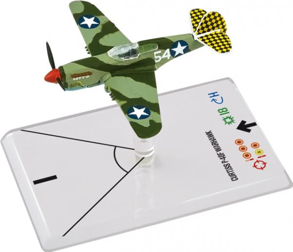 Wings Of Glory WWII Series III Miniatures: Curtiss P-40F Warhawk (LOTT)