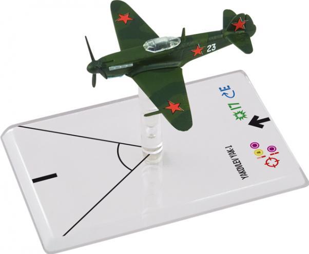 Wings Of Glory WWII Series III Miniatures: Yakovlev Yak-1 (Litvjak)