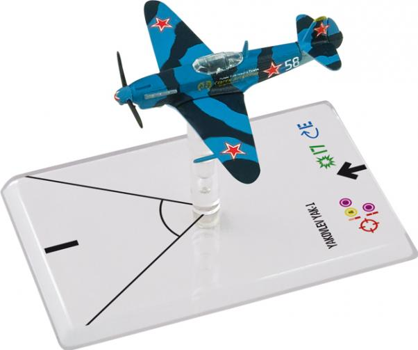 Wings Of Glory WWII Series III Miniatures: Yakovlev Yak-1 (Luganskij)