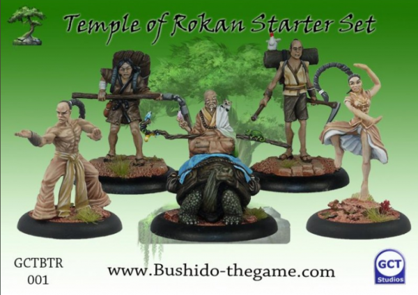 Bushido, Risen Sun: (Temple Of Ro-Kan) Starter Set