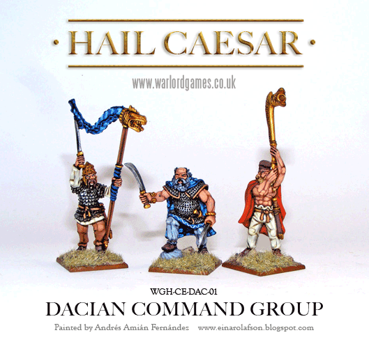 28mm Ancients: Dacian Command (3)