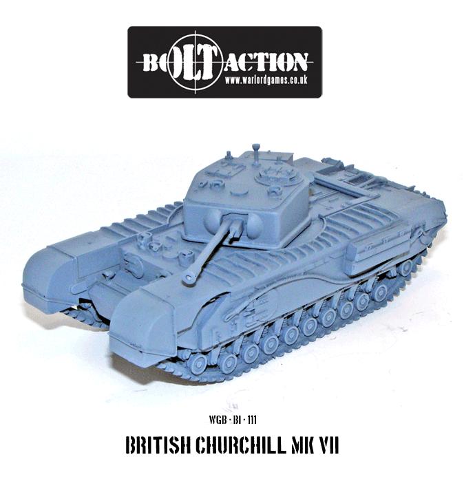 (British) Churchill Tank