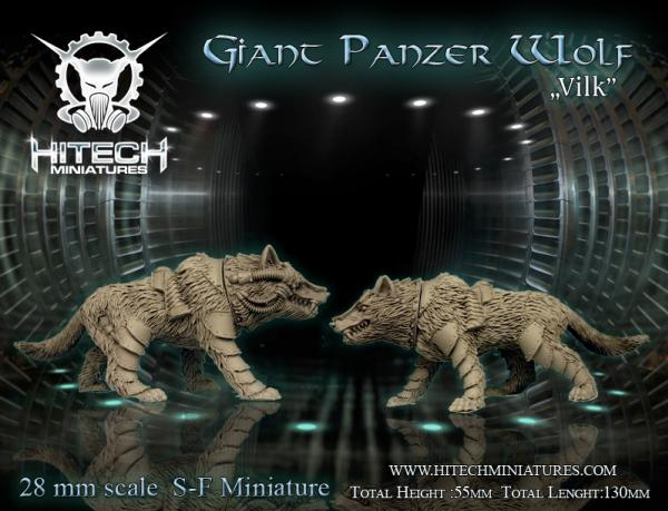(Viking) Vilk, Giant Panzer Wolf