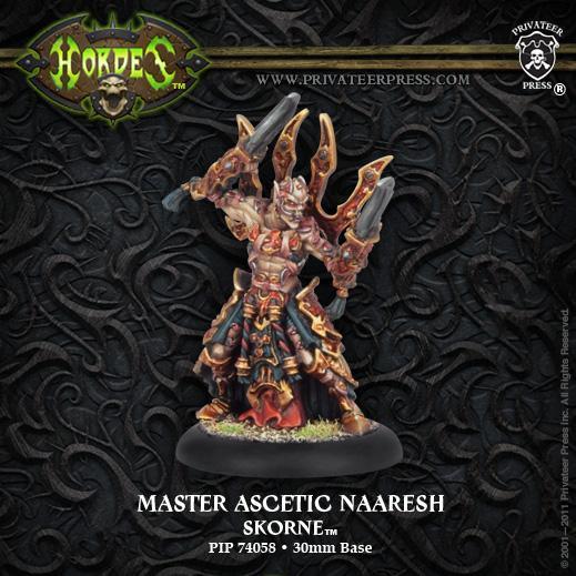 (Skorne) Master Ascetic Naaresh