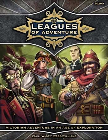 Leagues Of Adventure Sourcebook