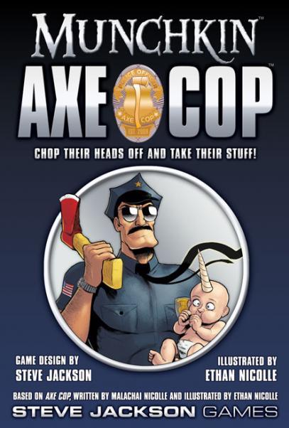 Munchkin Axe Cop (Core Set)