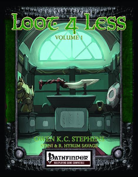 Pathfinder RPG: Loot 4 Less Vol.1