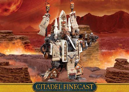 Citadel Finecast Resin: Inquisitor Karamazov