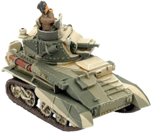 Flames of War - British: Light Mk VI B/C (Desert)