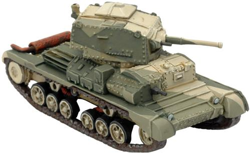 Flames of War - British: A10 Cruiser Mk IIA (Desert)